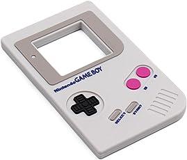 Bumkins Nintendo Silicone Teether, Game Boy