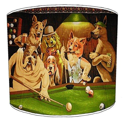 Premier Lampshades 30,5cm Decke Billiard, Pool, Snooker, 8 Ball Childrens Lampenschirme 19