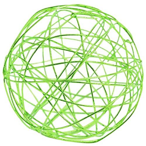 Chal - Assortiment boules métal vert anis