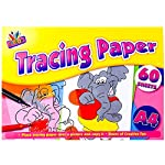 A4 Childrens Tracing Paper 60 Sheet Pad Ideal For School Or Home