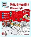 Mitmach-Heft Feuerwehr: Ausmalen, Rät...