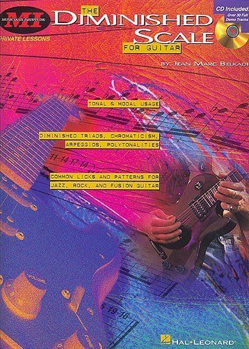 Jean Marc Belkadi: The Diminished Scale For Guitar. For Chitarra