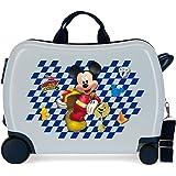 Disney Mickey Good Mood Valise Enfant Multicolore 50x38x20 cms Rigide ABS Serrure à combinaison 34L 2,1Kgs 4 roues Bagage à m