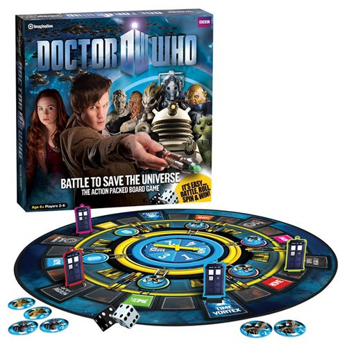 Image of Doctor Who - Save the Universe Boardgame
