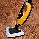 Dkings Durevole Alta efficienza Pulire 1 PC in Microfibra Steam Mop Cleaner Pavimenti Lavabili con tamponi di Ricambio per H20 S302