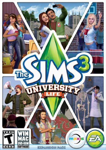 Electronic Arts The Sims 3 University Life - video games (Mac/PC, Simulation, Maxis, 5. 03. 2013, T (Teen), Electronic Arts)