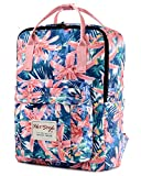 HotStyle Bestie Zaino 18L - Daypack Floral Impermeabile per Laptop 14' - Rosa