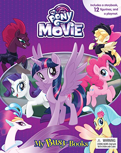 My Little Pony My Busy Books the Movie par