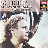 Schubert : Der Schwanengesang [Import anglais]