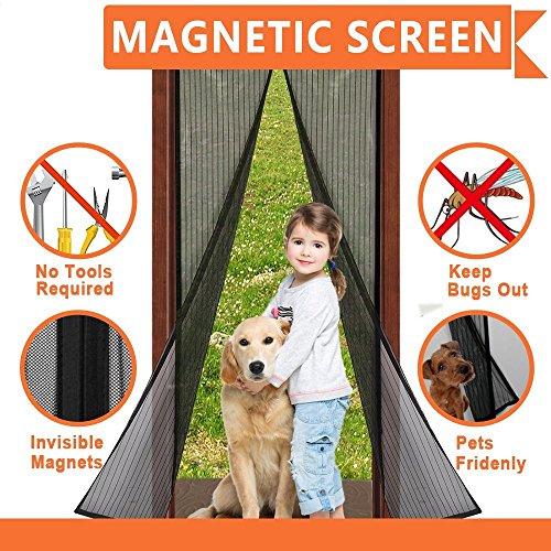 Cortina mosquitera magnética para puertas, Mosquitera Magnética 90 c
