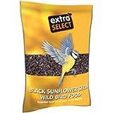Extra Select Black Sunflower Seed Wild Bird Food, 1 kg