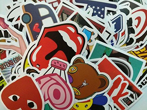 Preisvergleich Produktbild Stillshine Verschiedene Papeterie Stickers, Pop Art, Graffiti, Super Cool Aufkleber Aufkleber Pack Skateboarden / Snowboarding / Auto / Fahrrad / Macbook / Laptop / Möbel Dekoration usw, 2017 Vinyl Autoaufkleber (Pack of 200)
