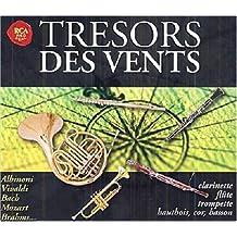 Tresors des vents : Clarinette, flûte, trompette, hautbois, cor, basson (Coffret 4 CD)
