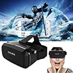 Now, set yourself to tour the much visualized desire of enjoying the experience of immersive, three-dimensional universe anywhere and anytime. By this high quality Virtual Reality (VR) gadget, explore the 3D world to watch movies, play VR games and v...
