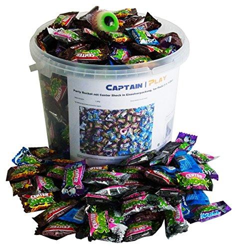Party Bucket mit Center Shock in Einzelverpackung, 1er Pack (1 x (Center Halloween)