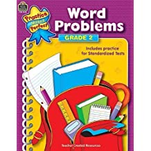 by Teacher Created Resources Staff Word Problems Grade 2 (Practice Makes Perfect (Teacher Created Materials)) (2004) Paperback