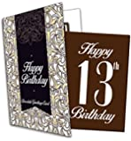 Happy 13th Birthday - Chocolate Greeting Card