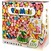 Loick Biowertstoff 160005 PlayMais World - Material para modelar diseño Princesa [Importado de Alemania]