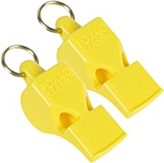 Fox 40 Whistle Yellow Pack of 2