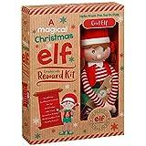 Peluche di elfo magico del Natale con kit di ricompensa (lingua italiana non garantita) Girl Elf