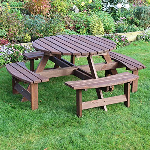 york-round-picnic-table-new-zealand-pine-8-seater-8-seat-30mm-thick-top