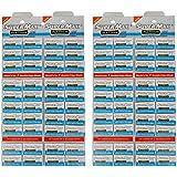 Super Max Platinum Double Edge Razor Blade - Pack of 400 blades