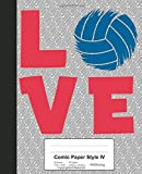 Comic Paper Style IV: Love Volleyball Book