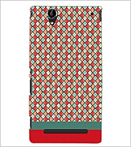 PrintDhaba Pattern D-1866 Back Case Cover for SONY XPERIA T2 ULTRA (Multi-Coloured)
