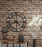 H&M Papel pintado sano PVC retro estilo 3D imitación ladrillo textura papel pintado decoración...