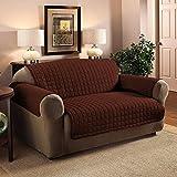 223 x 190cm Protector de sofá acolchado Throw Protector de muebles resistente al agua (2...