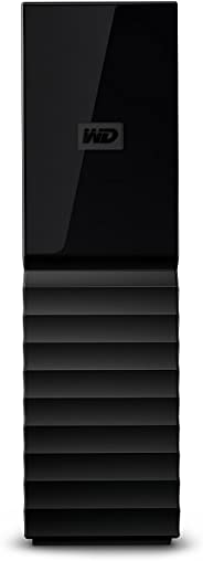 WESTERN DIGITAL My Book External Hard Drive 3.5, 6 TB - Black