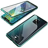 Compatible for Huawei Mate 20 Pro Flip Case Magnetic Adsorption Technology Ultra thin 360 Degrees Fully Body Screen Protectiv