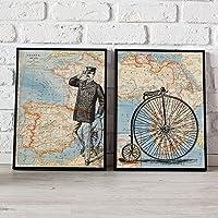 PACK VIAJE ESPAÑA-AFRICA. Posters con imágenes del mundo. Decoración de hogar. Láminas para enmarcar. Papel 250 gramos alta calidad