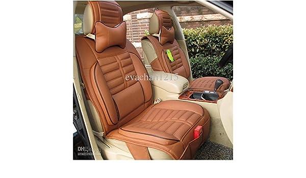 Brilliant 3D Frontline Car Seat Pu Leather Cover For Mahindra Scorpio Creativecarmelina Interior Chair Design Creativecarmelinacom