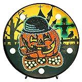Everpertuk Fai Da Te Diamante Pittura LED Lampada Speciale Forma di Halloween Decor DIY 5D Diamond Painting Kit con Luci
