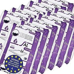 Pack de 300 Kg (12 Sacos de 25 kg.) ENISAL Sal Especial Piscinas - Cumple con la Norma Europea EN 16401/A (Sal Calidad A para Piscinas de electrólisis Salina)
