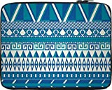 Snoogg Aztec Pattern Triangular 15 inch ...