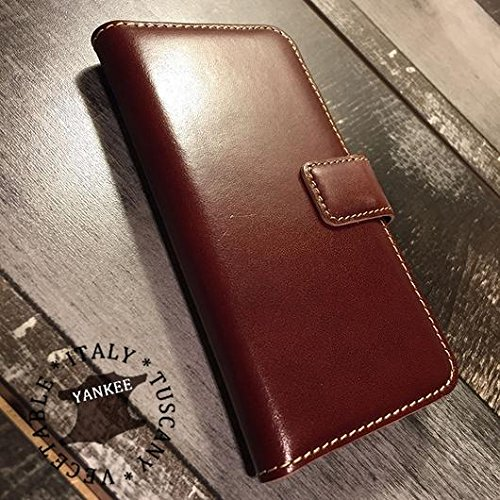 Yankee Italienisches Leder iphone8 + & iphone7 + Fall, Whisky Classic-5.5 inch ()