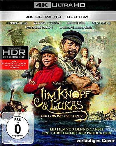 Jim Knopf & Lukas der Lokomotivführer (4K Ultra HD) ( + Blu-ray 2D) (Hd-dvd)