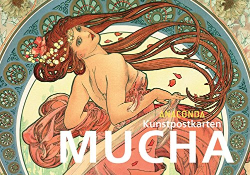 Postkartenbuch Alfons Mucha