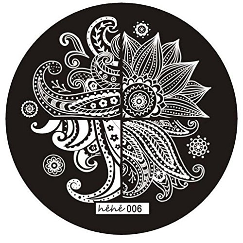Internet Mignon Motif Nail Art Photo Stamp Plaques Stamping Manicure Modèle 006