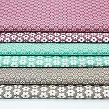 Brittschens Stoffe und Zutaten Stoffpaket Baumwolle - 6 x