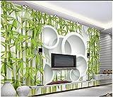 Weaeo 3D Pitture Murali Di Bambù Sfondi 3D Tv In Soggiorno Divano Sfondo Custom 3D Sfondo Foto Home Decoration