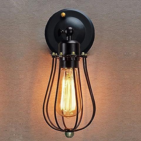 VanMe Les Styles Rétro Vintage Appliques Appliques Luminaire Loft Industriel Éclairage D'Accueil Éclairage Moderne Applique Murale