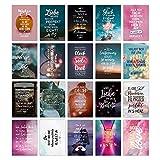 TypeStoff 20er Postkarten-Spar-Set – Liebe-Love – DIN A6, 20 Verschiedene Motive mit Sprüchen, Zitaten und Aphorismen DIN A6 (Liebe-Love)