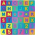 Dalton Manor Eva Foam Floor Mat Tiles X 36 Alphabet & 0-9 Numbers Interlocking Jigsaw Activity Playmat produced by DALTON MANOR - best deals