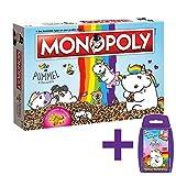 Monopoly Pummeleinhorn Collector's Edition Brettspiel | mit goldener Figur | Einhorn Spiel | Deutsch NEU (mit Top Trumps Pummeleinhorn)