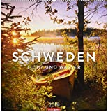 Schweden - Kalender 2019: Licht und Wasser