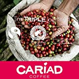 ♥ Ground Coffee 250g By Cariad Coffee ♥ ORGANIC, FAIRTRADE, RFA 100% ARABICA & Truly Delightful ♥ Our Medium Roast Coffee Blend of The Finest Arabica Coffee Ground from Central America, Ethiopia and Sumatra ♥ Love our Delicious Coffee or It's Free! cariad ♥♥ Organic Fairtrade  Ground Coffee By Cariad Coffee 6171bhwtMQL
