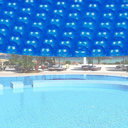 Wiltec Pool Solarfolie Rund Ø 5m blau Poolabdeckung Solarplane Poolheizung